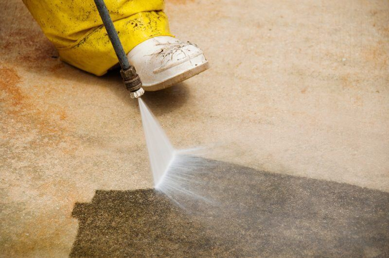 Concrete Restoration and Cleaning