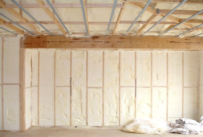 Foamed-In-Place Insulation