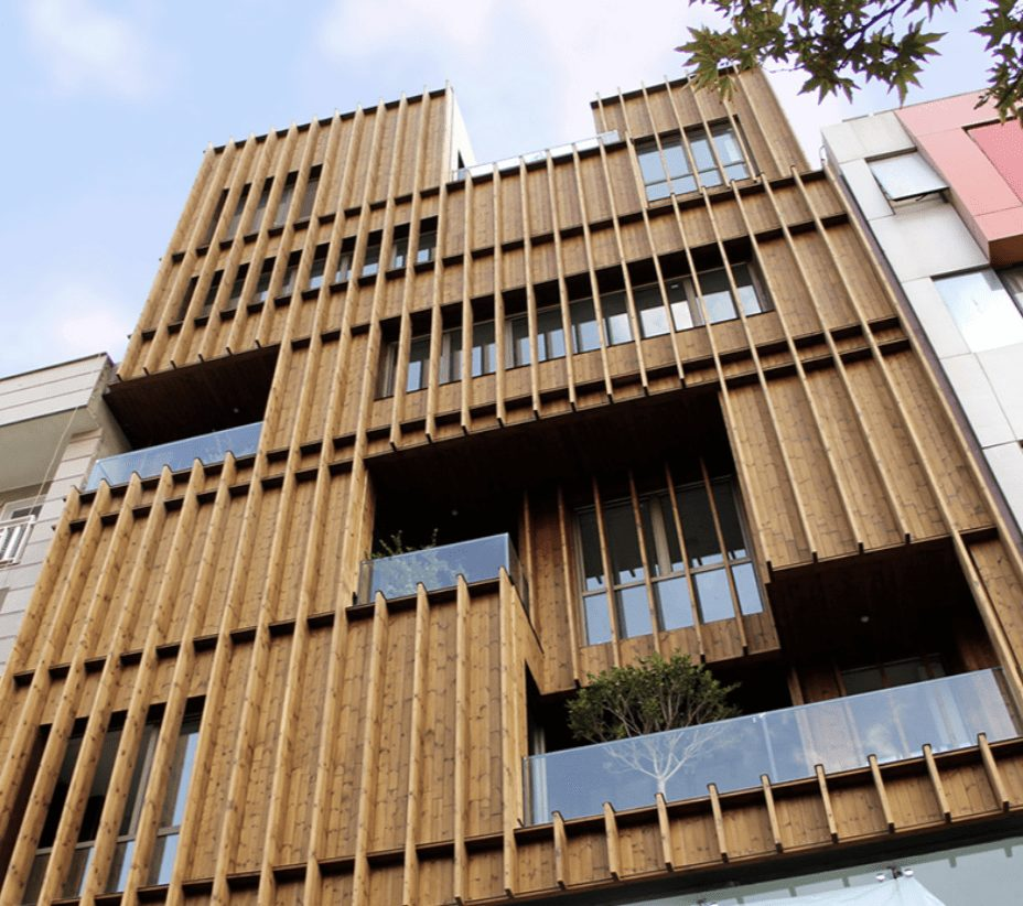 07 46 23 Thermally Modified Wood Cladding