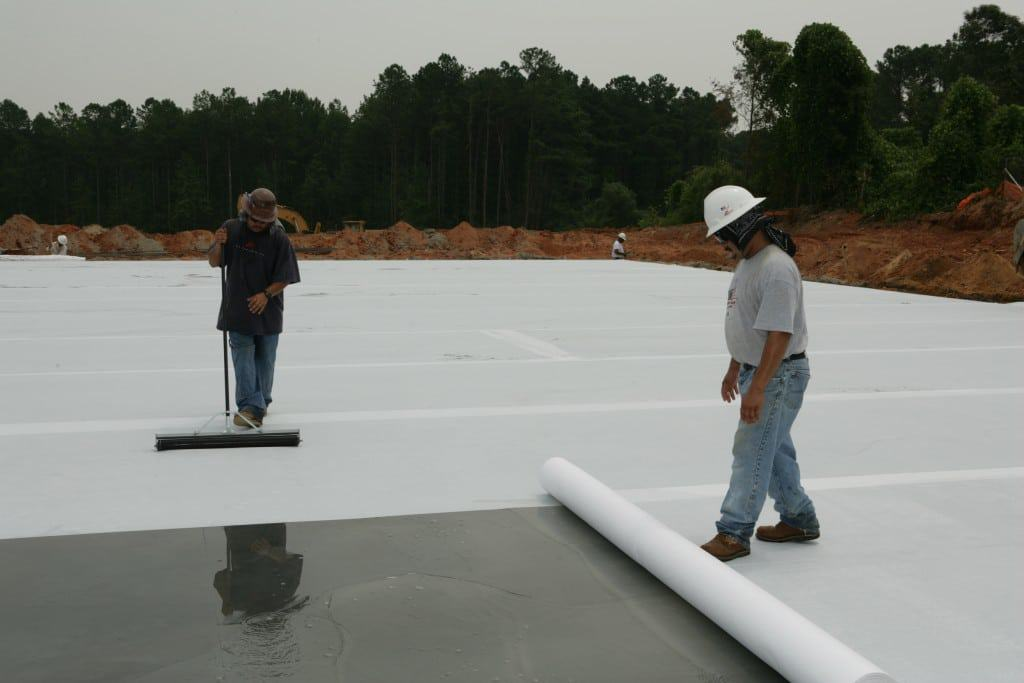 Materials for concrete - wet curing blankets